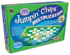 Jumpin' Chips Multiplication Game | Main photo (Cover)