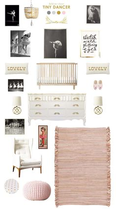 ballerina baby nursery inspiration---LOVE IT!