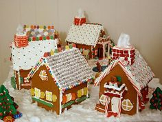 Little Christmas Town Gingerbread House