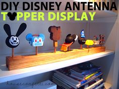 The Perfect Parking Space For Your Disney Antenna Toppers