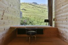 Corner Desk, Peter Zumthor, Leis, Architecture, Furniture, Home Decor, Large Bedroom, Stone Stairs, Ground Floor