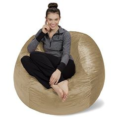 Sofa Sack-Bean BagsMemory Foam Bean Bag Chair, 4', Camel ... https://www.amazon.com/dp/B019OGSRA0/ref=cm_sw_r_pi_dp_x_hb2JybPZTMM4S
