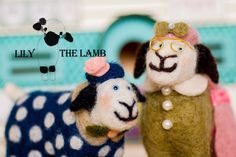 Family Lamb are out and about today.  These to adorable creatures you will soon be able to make yourselves in my upcoming how to guide and pattern booklet. The booklet will feature step by step photos to guide you through all the steps need to create your own little lamb sculptures. X  All designs copyright Lisa Marie Olson - Lily the Lamb - http://ift.tt/1Qo8Rsh - Tigerlily Makes - http://ift.tt/1VrmViX. Registered & Protected by ACID (Anti Copying In Design) www.acid.uk.com #felt #felted…