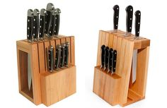 designing for knife storage part 1 blocks and wall racks Wall Mounted Coat Rack, Wall Racks, Recipe Book Holders, Unique Knives, Knife Storage, Knife Holder, Diy Holz, Home Gadgets, Folding Knives
