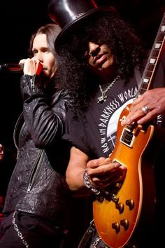 Myles Kennedy & Slash #rock #music #photography
