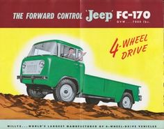 The FC-170 Brochure from the mystery jeep owner in Texas!