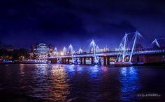 Millenium Bridge, London - null