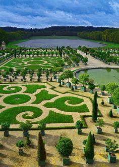 gardens of versailles by MJ Payne, via Flickr
