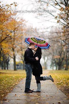 Love the umbrella and rainboots