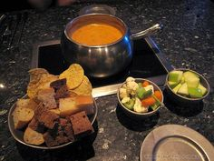 The Melting Pot, Roswell, GA - It wasn't just the server doing the surprising!