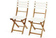 Santa Monica 2-Piece Chair Set, Two-Tone on OneKingsLane.com