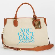 """eBay and the CFDA's """"You Can't Fake Fashion"""" Designer Totes - Ralph Lauren"""