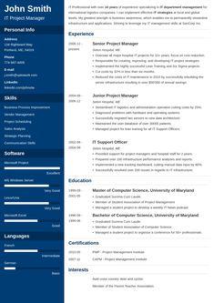 22 Best Resume images | Resume, Resume design template ...