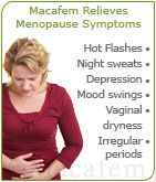Macafem offers a wide range of health benefits to women, from relieving the symptoms of menopause to promoting a healthy sexual function. Contrary to other hormonal therapies available, Macafem does not contain any hormones. Instead, Macafem nourishes the hormonal system to encourage the production of natural hormones. Aside from balancing hormone levels or relieving PMS symptoms, it promotes a healthy sexual function, increases fertility, energy, and vitality as well.