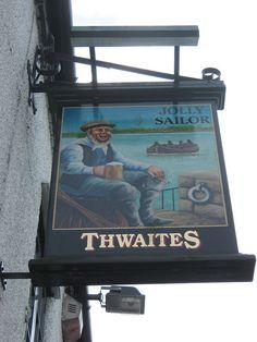 English Breakfast Tea, British Pub, Pub Signs, North Yorkshire, Sailor, Lord, Traditional, Nautical