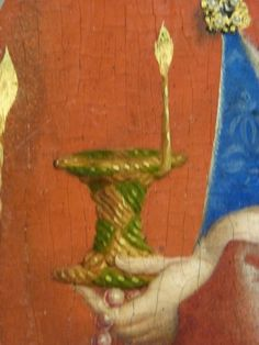 Stefan Lochner, detail from the Presentation of Christ in the Temple, c 1447