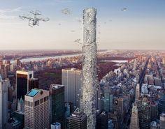 The Hive: Drone Skyscraper (eVolo   Architecture Magazine)
