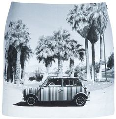 ShopStyle: Paul Smith Printed short skirt