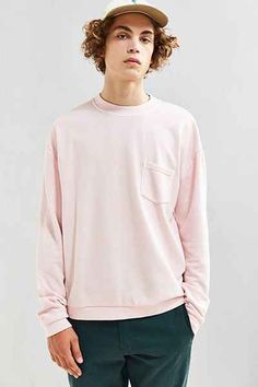 UO Garnett Pocket Crew Neck Sweatshirt