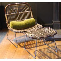 Kawa Rattan Lounge Chair by House Doctor DK Möbler 42f0a5afa7ddf