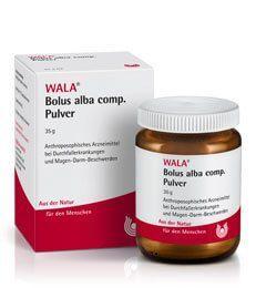Bolus alba comp. Pulver