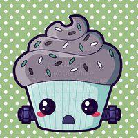 Frankenstein Cupcake by pai-thagoras