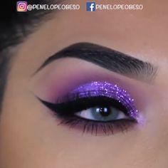 Rachel Perry maakt make-up video& vlogs, kledingrecensies Patreon Purple Makeup Looks, Makeup Eye Looks, Eye Makeup Steps, Eye Makeup Art, Beautiful Eye Makeup, Blue Eye Makeup, Cute Makeup, Makeup For Brown Eyes, Glam Makeup