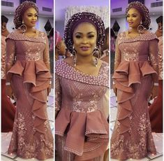 2018 Asoebi Styles for Beautiful African Ladies