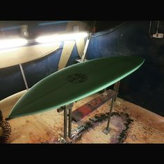 Up bottom prepped and glassed. #shitingthebed never felt so good. #rsd single fin for me! #surfboards #portfairy by mulletcocktail