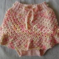 Crocheting: Seashell Lace Skirtie Downloaded free pattern