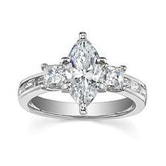 Helzberg Discontinued Rings Marquis   Engagement Ring, Marquise Shape