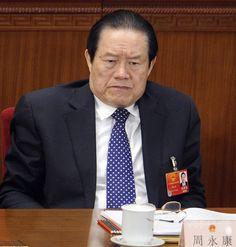 中国・北京(Beijing)で開かれた全国人民代表大会(National Peoples Congress、全人代)に出席する周永康(Zhou Yongkang)政治局常務委員(当時、2012年3月5日撮影、資料写真)。(c)AFP/LIU JIN ▼30Jul2014AFP|中国共産党、周永康氏を調査 「重大な規律違反」の疑い http://www.afpbb.com/articles/-/3021808 #Zhou_Yongkang