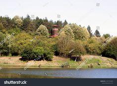 High Viewpoint Building Among Trees tartalmú stockfotó (szerkesztés most) 1497373463 Trees, House Styles, Building, Photography, Image, Photograph, Tree Structure, Buildings, Fotografie