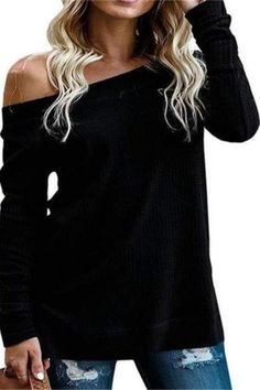Back To Search Resultswomen's Clothing Flight Tracker Women Top Female Blusa 2019 Women Sexy Sling Off Shoulder Blouse Long Sleeve Shirt Casual Loose Solid Color Bandage Blouses