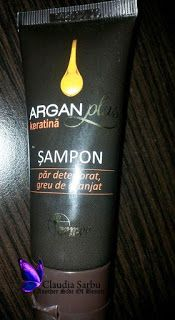 Another Side Of Beauty: Review Sampon Argan Farmec