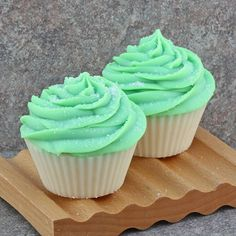 Handmade Cupcake Soap in Lime Coconut - Cold Process Bakery Soap – Alaiyna B. Bath and Body Watermelon Cupcakes, Cap Cake, Cupcake Soap, Candy Sprinkles, Colorful Cakes, Good Enough To Eat, Handmade Soaps, Soap Making, Bath And Body