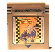 Gameboy Spiel Crash Dummies für Game Boy