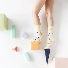 Shape up your days! E Magazine, Happy Socks, Color Inspiration, Girly, Concept, Shapes, Poses, Instagram, Creative