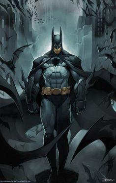 Batman by Mauricio Herrera