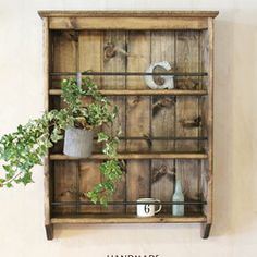 Storage Shelves, Home Decor Inspiration, Sweet Home, Handmade, Crafts, Pallets, Creema, Design, Furniture