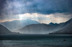 http://500px.com/photo/182977137 rain clouds over the lake by StefanRadi -. Tags: lakemountainswatercloudsrainthunderstorm