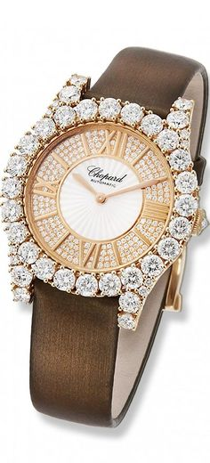 Diamond Watches Collection : Chopard - Watches Topia - Watches: Best Lists, Trends & the Latest Styles Latest Women Watches, Ring Armband, Beautiful Watches, High Jewelry, Luxury Watches, Fashion Watches, Jewelry Watches, Women's Watches, Ladies Watches