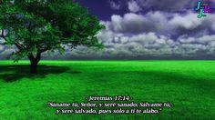 """– Jeremías 17:14 – """"Sáname tú, Señor, y seré sanado; Sálvame tú, y seré salvado, pues sólo a ti te alabo."""""""
