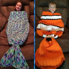 Mermaid Tail Adult Lapghan Free Pattern