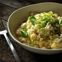 Looking for Fast & Easy Appetizer Recipes, Cheese Recipes! Recipechart has over free recipes for you to browse. Find more recipes like Sweet Corn Risotto with Farmers Cheese. Sweet Corn Recipes, Cheese Recipes, Vegetable Recipes, Real Food Recipes, Vegetarian Recipes, Healthy Recipes, Gf Recipes, Cooker Recipes, Healthy Food