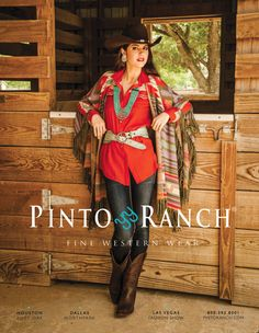 Pinto Ranch Ad Tasha Polizzi Fall 2013 Clothing.