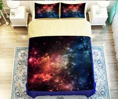 Night Sky Bedding Set, Outer Space Bedding Set,Stars galaxy duvet, pillow, sheet, Space theme bedding set,Full,queen,king sold by UHHome. Shop more products from UHHome on Storenvy, the home of independent small businesses all over the world.