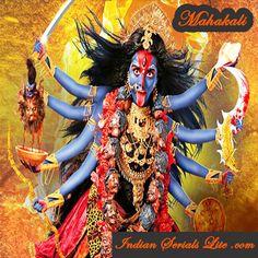 Mahakali December 2017 Indian Serial Online, Watch Full Episode of Mahakali Episode Online,Mahakali Colors Tv Hindi Serial Full Online. Jay Maa Kali, Kali Shiva, Kali Hindu, Kali Mata, Mother Kali, Mother Goddess, Divine Mother, Indian Goddess Kali, Goddess Lakshmi
