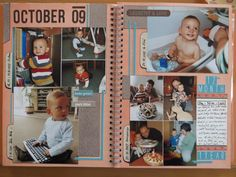 Orange Smashbook - 12th month
