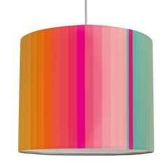 Lampenschirm Stripes Multivitamin